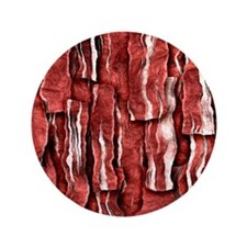 """Got Meat? - Overlapping bacon 3.5"""" Button"""