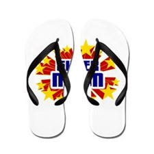 Nixon the Super Hero Flip Flops