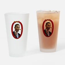 Pinocchiobama Drinking Glass