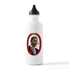 Pinocchiobama Water Bottle