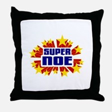 Noe the Super Hero Throw Pillow