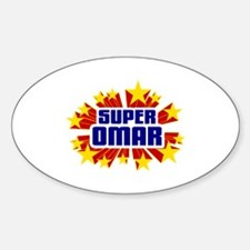Omar the Super Hero Decal