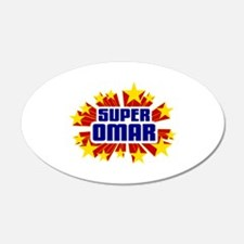 Omar the Super Hero Wall Decal