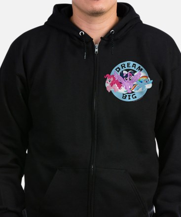 My Little Pony Dream Big Zip Hoodie (dark)