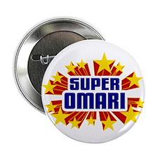 """Omari the Super Hero 2.25"""" Button"""