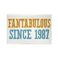 Fantabulous Since 1987 Rectangle Magnet
