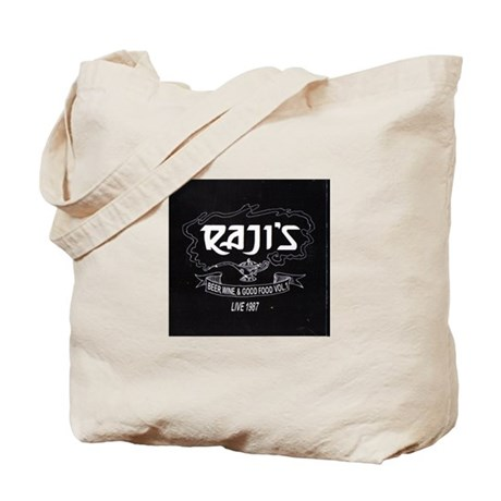 live at Rajis Tote Bag