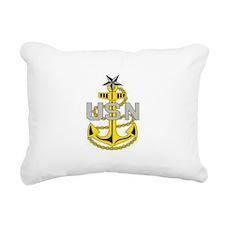 Cool Navy chief Rectangular Canvas Pillow