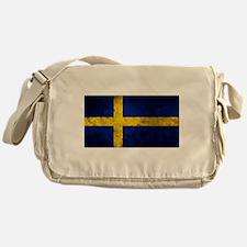 Swedish Flag Messenger Bag