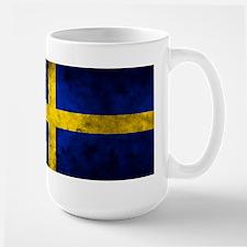 Swedish Flag Large Mug