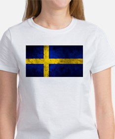 Swedish Flag Women's T-Shirt