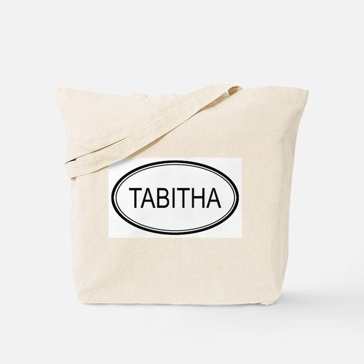 Tabitha Oval Design Tote Bag
