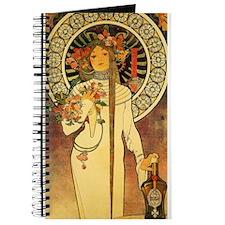 Vintage Art Nouveau Mucha Trappestine Poster Journ