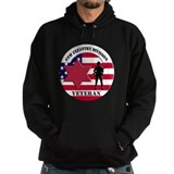 6th infantry division Dark Hoodies