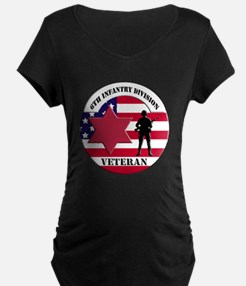 6th Infantry Division Maternity T-Shirt