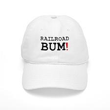 RAILROAD BUM! Z Baseball Cap