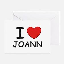 I love Joann Greeting Cards (Pk of 10)