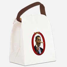 Pinocchiobama Canvas Lunch Bag
