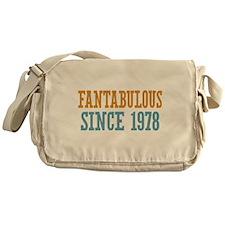 Fantabulous Since 1978 Messenger Bag