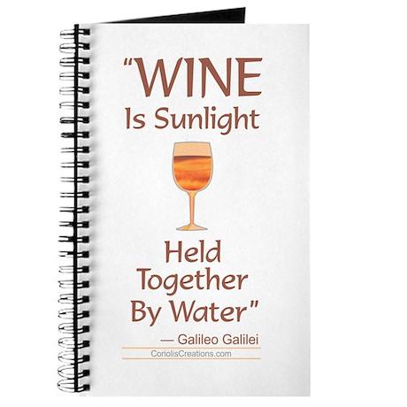 Wine Sunlight - Journal
