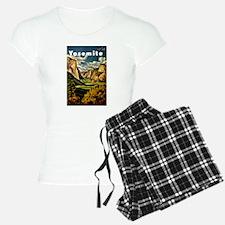 Vintage Yosemite Travel Pajamas