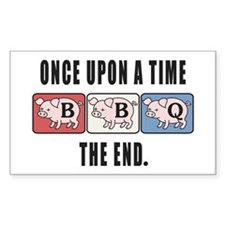 BBQ Fairy Tale Decal