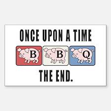 BBQ Fairy Tale Decal