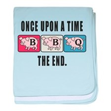 BBQ Fairy Tale baby blanket