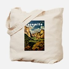 Vintage Yosemite Travel Tote Bag