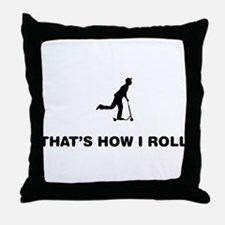 Scooter Throw Pillow