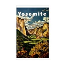 Vintage Yosemite Travel Decal