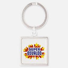Osvaldo the Super Hero Keychains