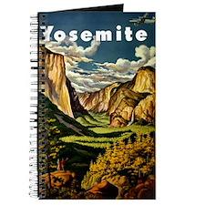 Vintage Yosemite Travel Journal