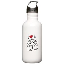 I Love you THIS much Water Bottle