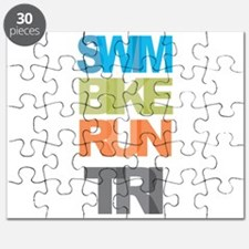 SWIM BIKE RUN TRI Puzzle