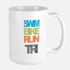 SWIM BIKE RUN TRI Mug