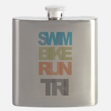 SWIM BIKE RUN TRI Flask