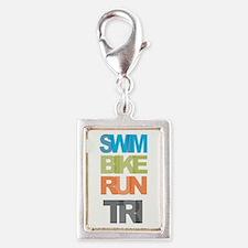 SWIM BIKE RUN TRI Charms
