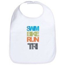 SWIM BIKE RUN TRI Bib