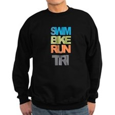 SWIM BIKE RUN TRI Sweatshirt