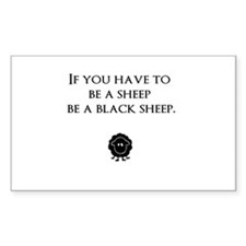 Black Sheep Decal