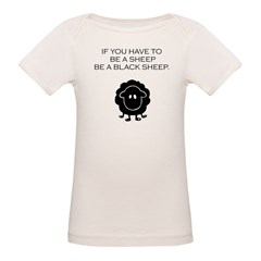 Organic Baby Black Sheep T-Shirt