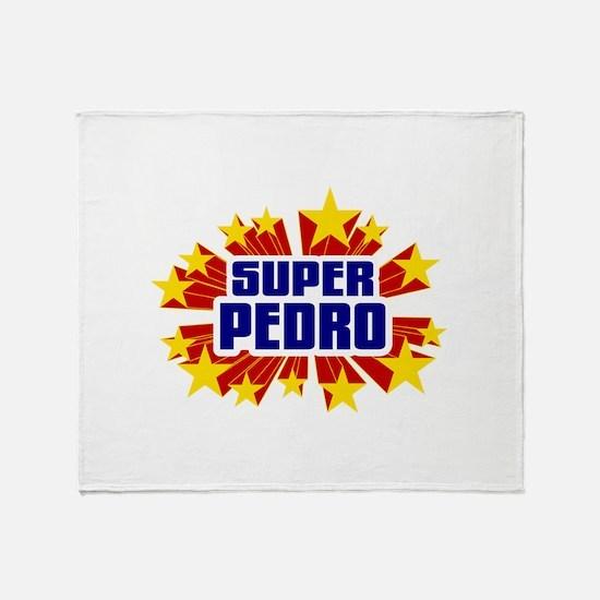Pedro the Super Hero Throw Blanket