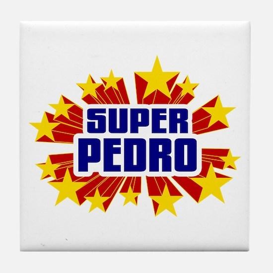 Pedro the Super Hero Tile Coaster