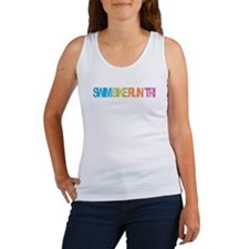 SWIM BIKE RUN TRI Tank Top