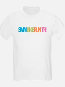SWIM BIKE RUN TRI T-Shirt