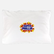 Phillip the Super Hero Pillow Case
