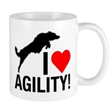 I love Agility Border Collie Tasse