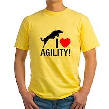 I love Agility Border Collie T-Shirt