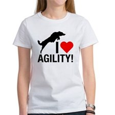 I love Agility Border Collie T-Shirt